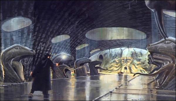 Quelle épreuve a dû surmonter Harry dans la Chambre des secrets ?