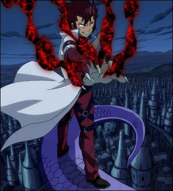 Cobra est un Dragon Slayer de la seconde génération qui possède le pouvoir du dragon venimeux. Mais il possède aussi une autre magie. Laquelle ?