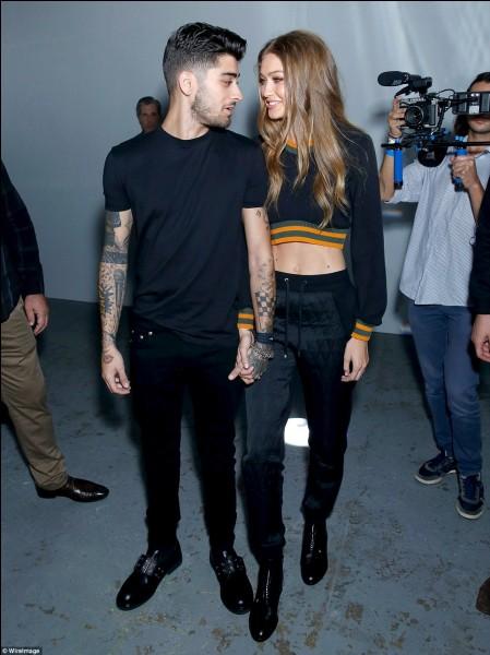 Qui est ce chanteur américain accompagné de sa compagne Gigi Hadid ?