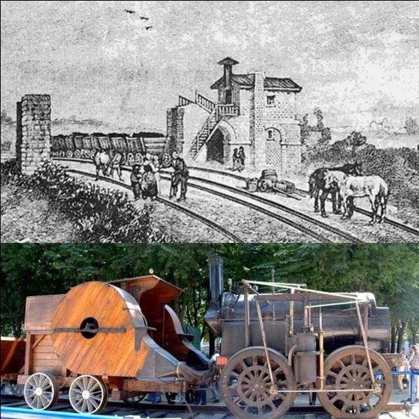 Lettre « T » comme « Train » !En France, les premières lignes ferroviaires sont apparues dans la première moitié du XIXe siècle. La toute première est apparue sous le règne de Louis XVIII. Au début, il est utilisé pour le transport de la houille.Quelle est la toute première ligne de train transportant des voyageurs en France ?
