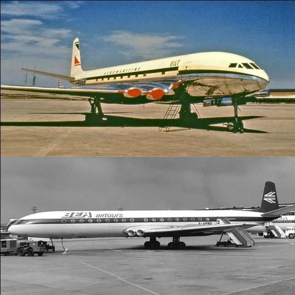 Lettre « A » comme « Aviation » !Cet avion a participé à l'épopée de l'aviation civile à réaction. C'est même le premier avion de ce type mis en exploitation. Hélas, une erreur de conception provoquera, en définitive, un relatif échec économique.Quel est cet avion ?