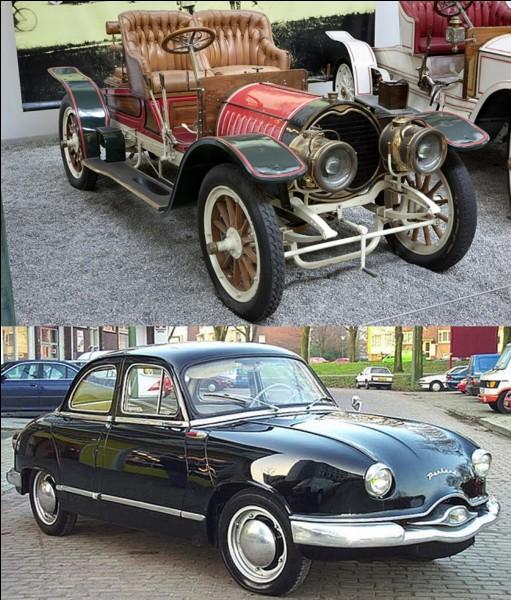 Lettre « V » pour « Voiture » !La première marque automobile française est née en 1886. Elle a produit des voitures jusqu'en 1967. En plus, cette société a construit la première usine automobile au monde.Quelle est cette marque ?