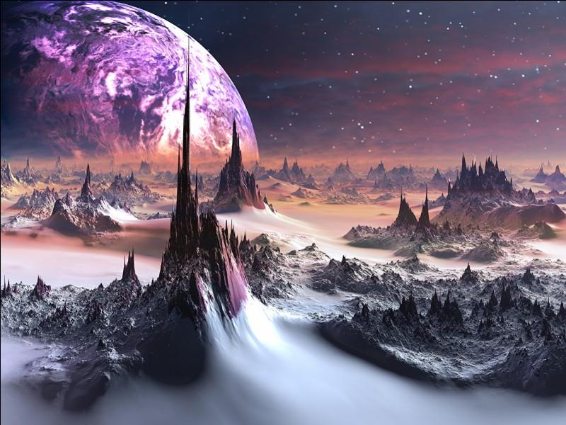 Sur quelle planète aimerais-tu habiter ?