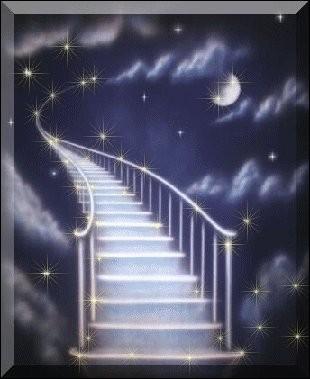"""C'est à présent une étoile dans le ciel, et il chantait """"Je te promets le ciel..."""" :"""