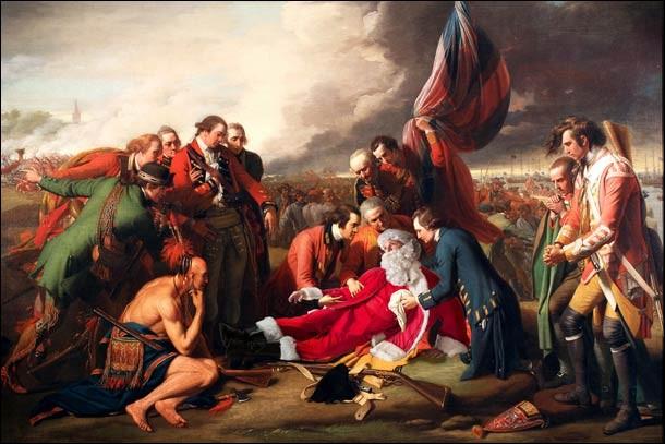 De quel général britannique le père Noël rencontre-t-il la mort en 1759, lors de la bataille du Québec ?