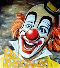 Ses chansons sont pleines de bonne humeur et il a une bille de clown. Quel le titre de son album et le nom de cet artiste ?
