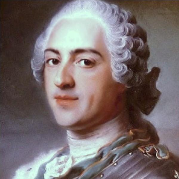 Qui a régné de 1715 à 1774 ?