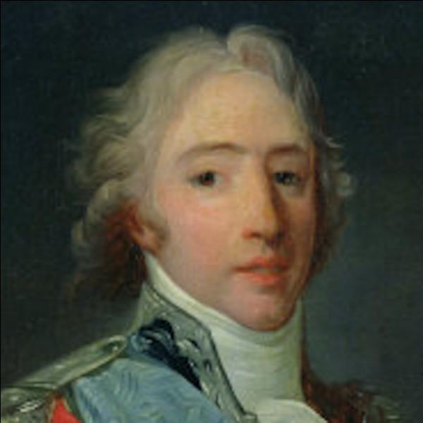 Quel roi a régné de 1824 à 1830 ?