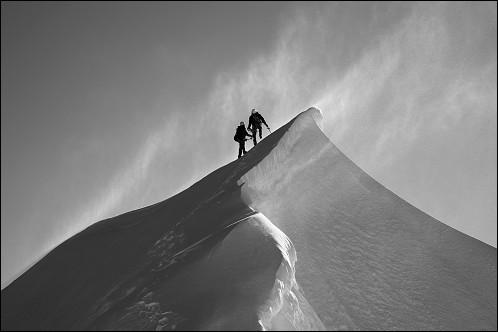 Qui a effectué la première ascension du mont Blanc ?