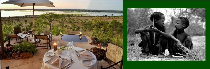 Les Bushmen du Kalahari sont les derniers chasseurs-cueilleurs d'Afrique. Que se passe-t-il au Botswana ?