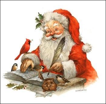 On peut écrire au Père Noël, le courrier doit être adressé à Libourne, en France, mais n'oubliez pas le code postal !