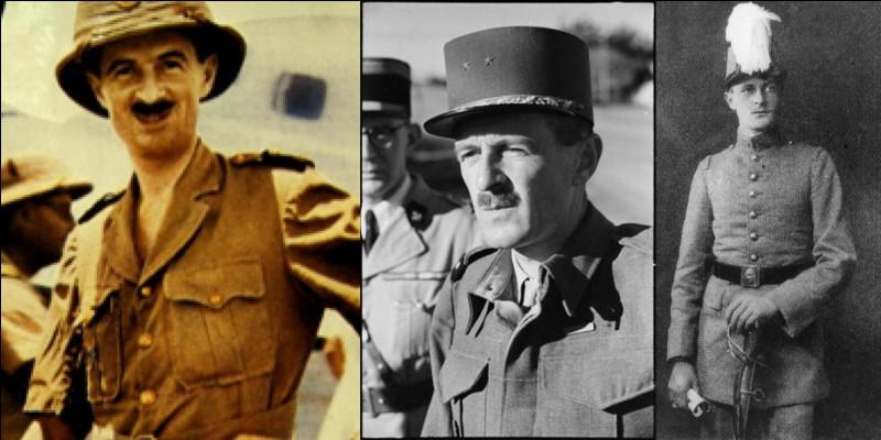 Ce capitaine a rejoint la France libre le 25 juillet 1940. Il a été « colonel par enchantement » et finira la guerre comme général de division ! Il participa à la campagne de France (1940), aux combats en Afrique du nord (1940, 1943), à la libération (1944, 1945) et verra la fin de la guerre en Europe en Allemagne.Qui est cet homme ?