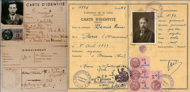 Le 23 juillet 1940, le régime de Vichy de Pétain prend une décision concernant les personnes qui ont quitté la France entre le 10 mai 1940 et le 30 juin 1940.Que dit cette loi ?