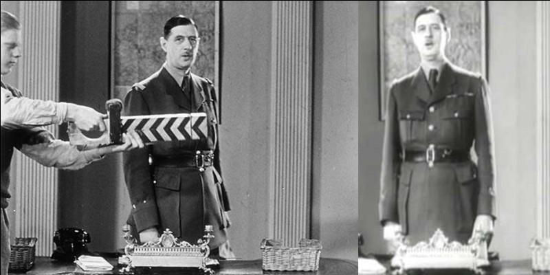 L'intervention du général de Gaulle n'a pas été enregistrée. Résultat, il dut revenir à la BBC pour qu'elle soit enregistrée et rediffusée. C'est celui que nous entendons lors de la date anniversaire et des commémorations.En tout, combien existe-t-il de versions pour cet appel ?