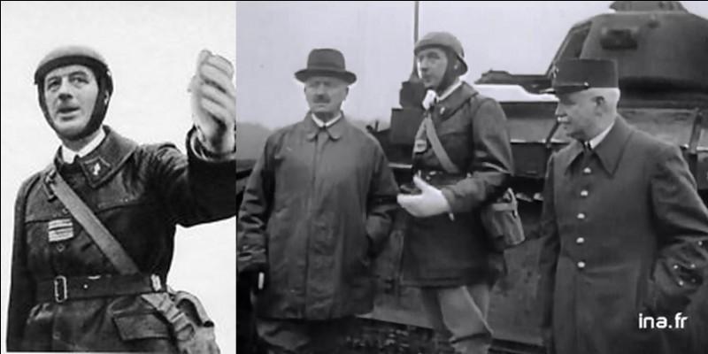 Quelques semaines avant, le général de Gaulle s'était exprimé dans un discours. On considère qu'il s'est inspiré de celui-ci pour créer l'Appel du 18 juin.Où et quand s'est-il exprimé ?
