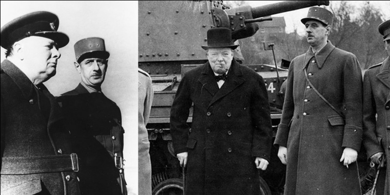 Quelques années après la fin du conflit, une personnalité majeure de la 2e Guerre mondiale écrira : « Dans ce petit avion, de Gaulle emportait avec lui l'honneur de la France ».De qui s'agit-il ?