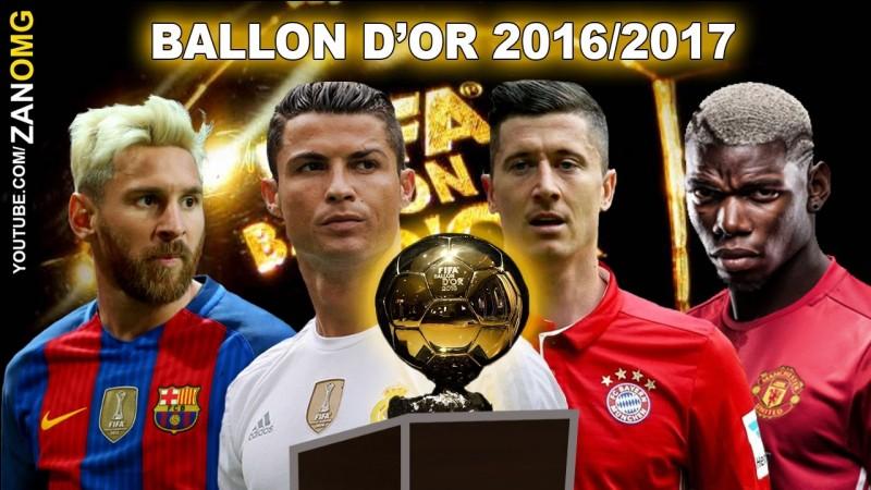 Qui a remporté le Ballon d'or en 2017 ?