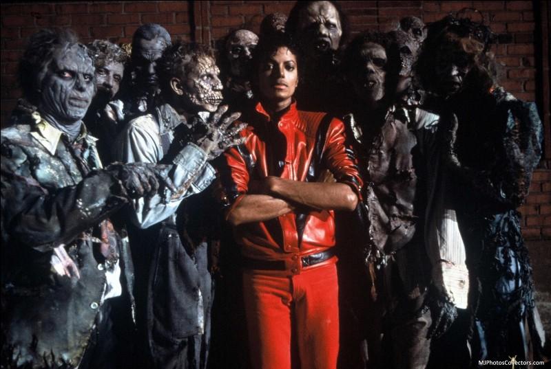 Dans quelle musique de Michael Jackson peut-on le voir en zombie dans son clip ?