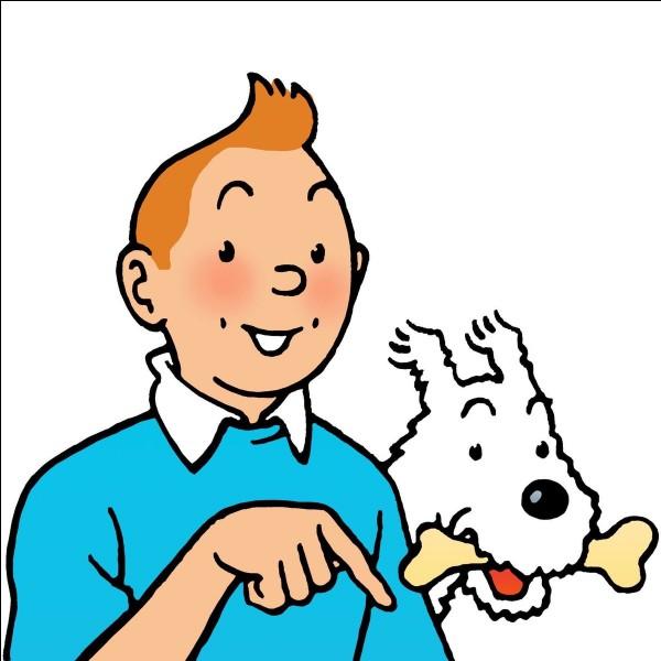 """L'auteur de la bande dessinée """"Tintin et Milou"""" est :"""