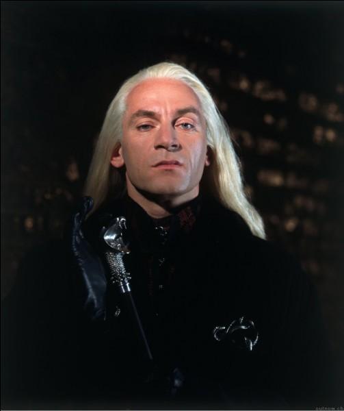 Comment s'appelle le père de Lucius Malefoy ?