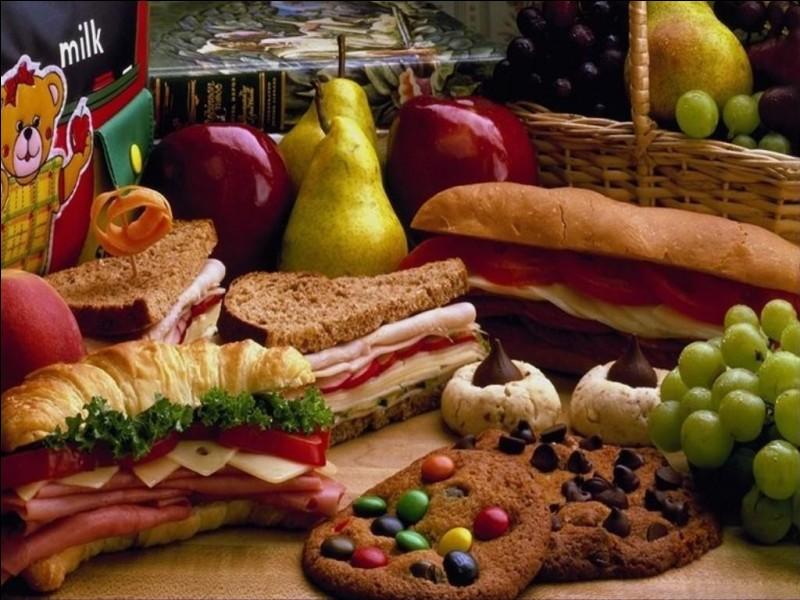 Choisis un aliment :