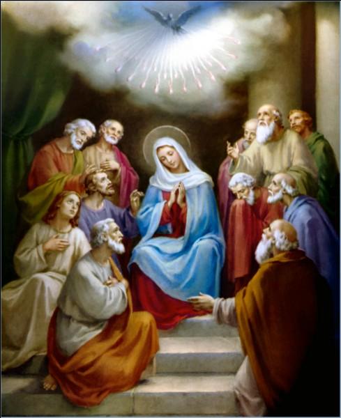 Cette autre fête chrétienne, la Pentecôte, est célébrée...