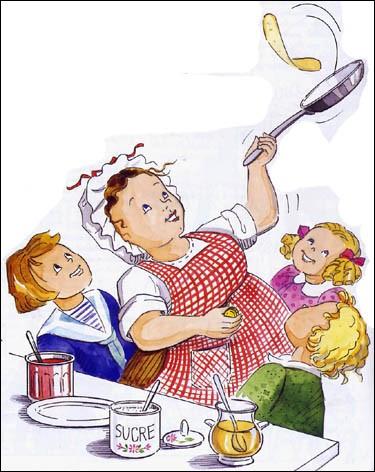 Le 2 février, à la Chandeleur, on mange des crêpes. Mais en les faisant, il faut respecter une coutume. Laquelle ?