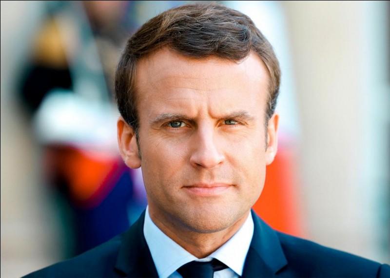 Qui est le président de la France en ce moment ?
