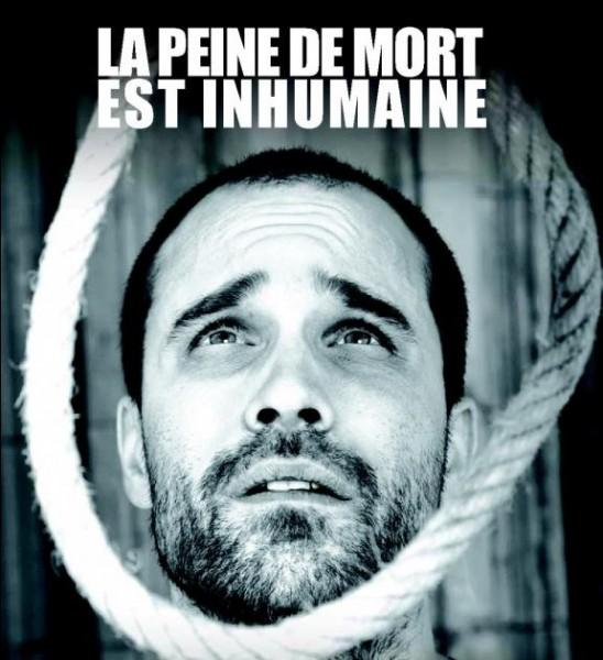 Quel ministre obtint l'abolition de la peine de mort en France ?