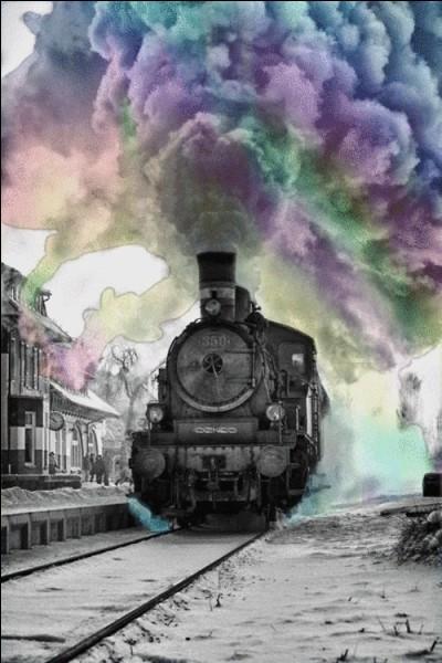 Comment est le train qu'Agatha Christie a choisi ?