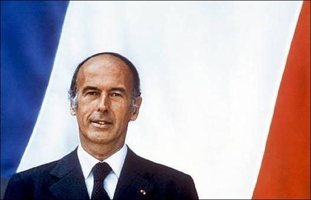 En quelle année Valéry Giscard d'Estaing fut-il élu président de la République ?