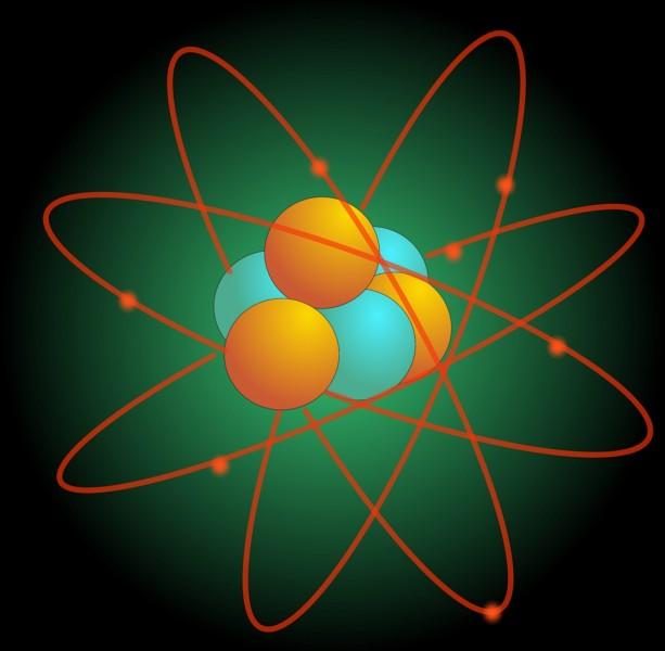 Un atome a la forme...