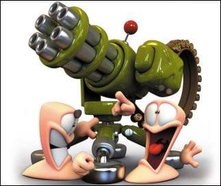 Comment se nomme cette arme de Worms 4 Mayhem ?