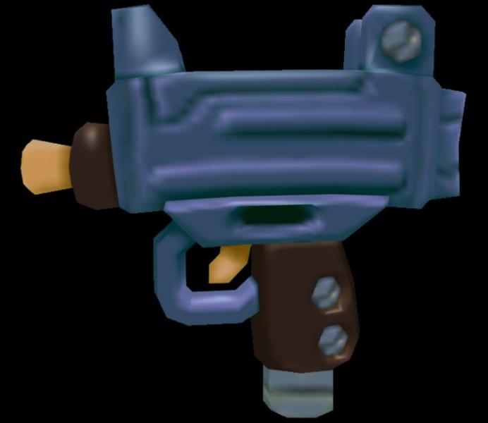 Que peut être cette arme ? Un ...
