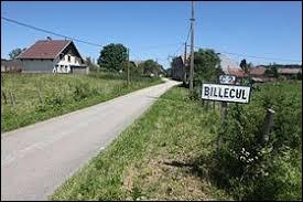 Petit village Jurassien de 40 habitants, Billecul se trouve en région ...
