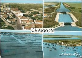 Je vous propose de partie en Nouvelle-Aquitaine à la découverte de Charron. Ville estuarienne et petit port de pêche connu pour ses moules, dans l'arrondissement de La Rochelle, elle se situe dans le département ...
