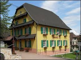 Commune Haut-Rhinoise, Riespach se situe dans l'ancienne région ...