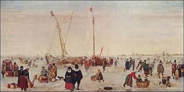 Situé au musée Boijmans Van Beuningen à Rotterdam, ''Paysage d'hiver'' est un tableau réalisé en 1620 par un peintre néerlandais. Parmi les trois cités, lequel a créé ce chef-d'oeuvre ?