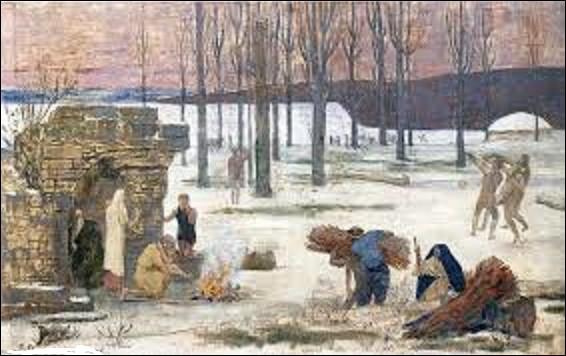 De ces trois peintres de mouvement symboliste, lequel a peint, en 1896, ce tableau intitulé tout simplement ''L'Hiver'' ?