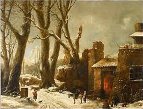 Pourriez-vous me citer le nom du peintre qui réalisa, en 1804, ce tableau intitulé ''Première Neige dans le Piémont'', peinture que l'on peut admirer au musée du Louvre ?