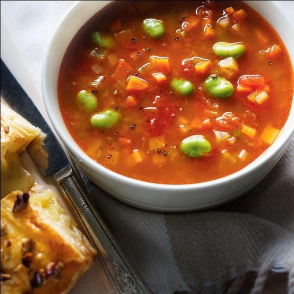 Vous avez un bol de soupe et une cuillère. Comment devez-vous manger ?