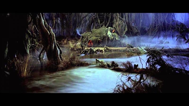 Quelle bestiole avale R2-D2 sur Dagobah ?