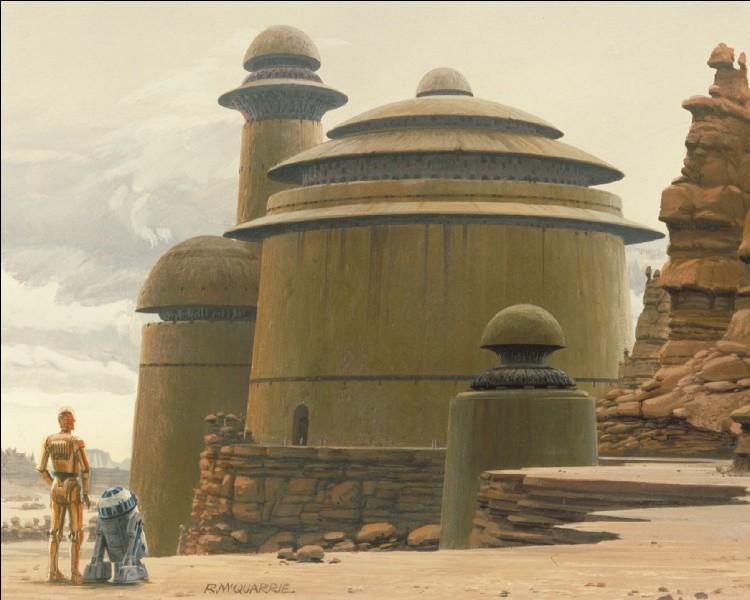 Qui a construit le palais de Jabba ?