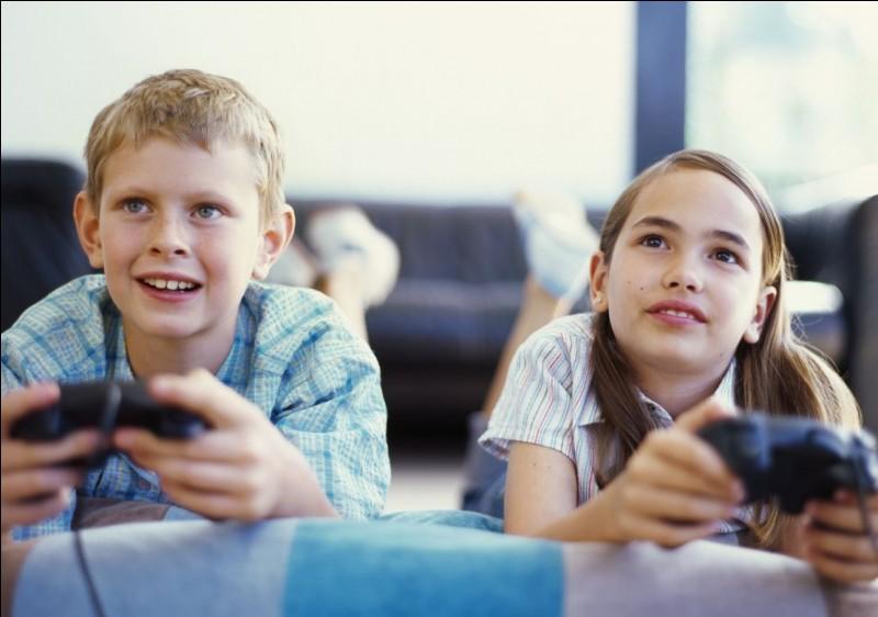Joues-tu aux jeux vidéos ?