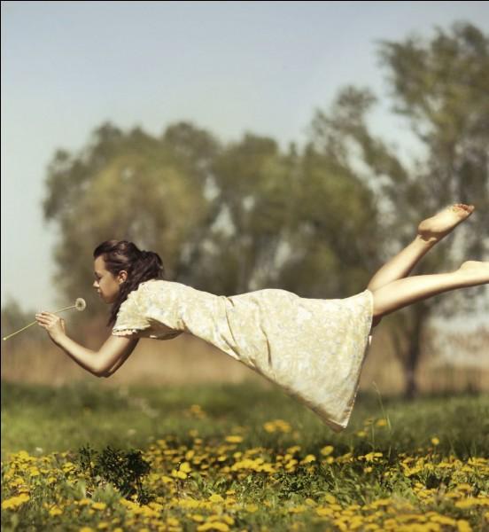 T'est-il déjà arrivé de faire des rêves où tu pouvais voler ?