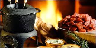 Quelle viande est utilisée dans une fondue bourguignonne ?