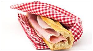Quels sont les deux ingrédients qui composent le sandwich classique français ?