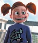 Comment se prénomme ce petit monstre de fille que l'on retrouve dans les aventures de Némo ?