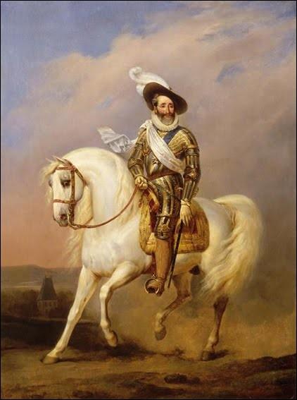 """H - """"Henri IV"""" est assassiné en 1610 par Charlotte Corday."""