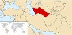 Localisation, drapeaux et capitales des pays d'Asie Centrale